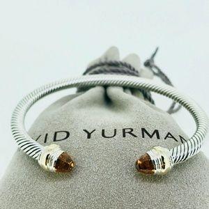 David Yurman Cable Classic Bracelet Citrine